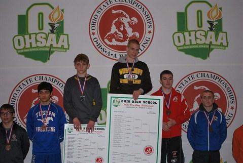 Gennar Feucht 132 lb. 2013 State Champion