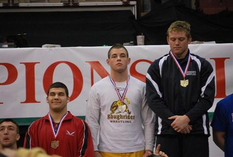 Corey Ginn 220 lb. 2013 State Runner-up