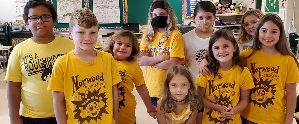 3rd Grade spirit day