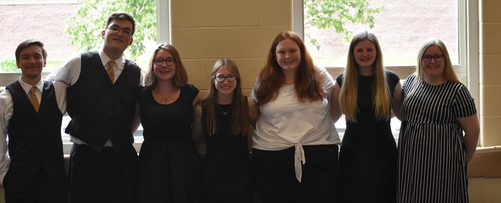 band and choir group shot