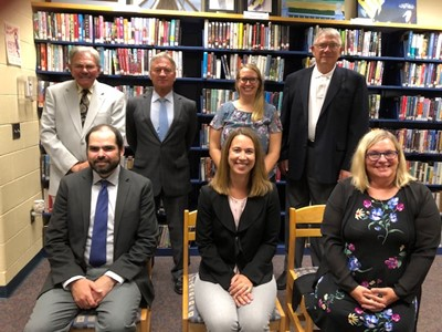 Picture of all Board Members